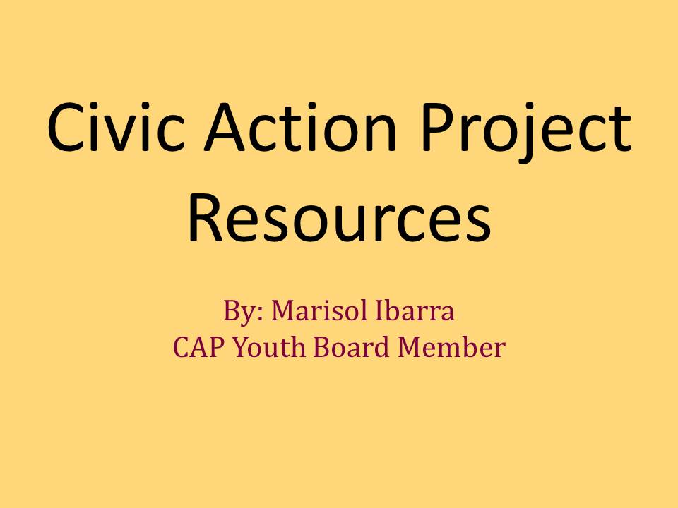 CAP CYP Resource
