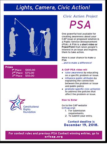PSA Flyer
