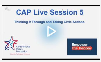 CAP Live Thinking